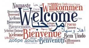 Multi Lingual Welcome Graphic