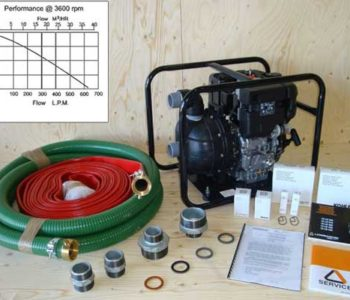 LIght Duty Water Pump Kit KWATPUMCERU2