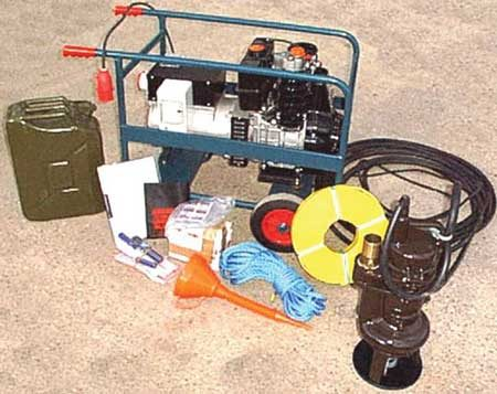"2"" Solids handling pump & generator kit"