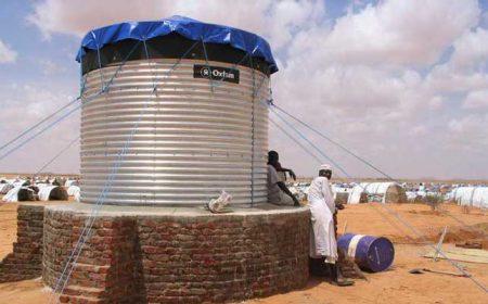 Steel Water Storage Tank Sudan