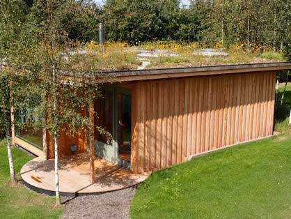 Green Roof Garden Office