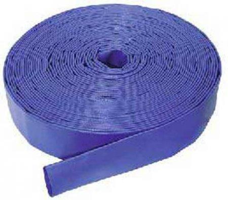 PVC Layflat Hose, Blue