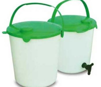 14 litre Plastic Bucket with Tap