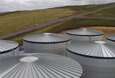 Roof Options for Galvanised Steel Tanks