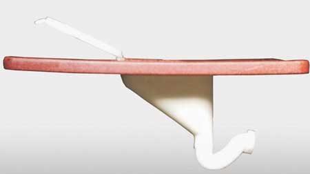 Squatting Plate with Pour Flush