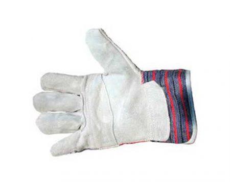 heavy duty leather work gloves