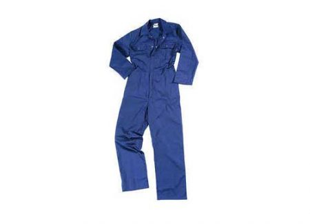 Royal Blue Protective Coverall