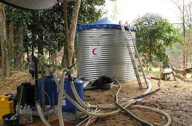 Steel Demountable Water Tanks