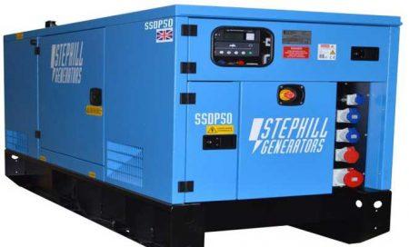 50kVA Diesel Powered Generator