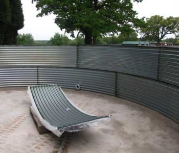 Corrugated Tank Steel Panel Kits