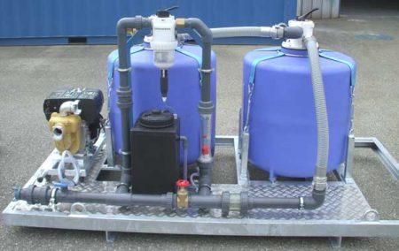 LMS water treatment unit 10ms