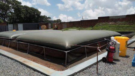 Temporary Fuel Storage Bladder Tank