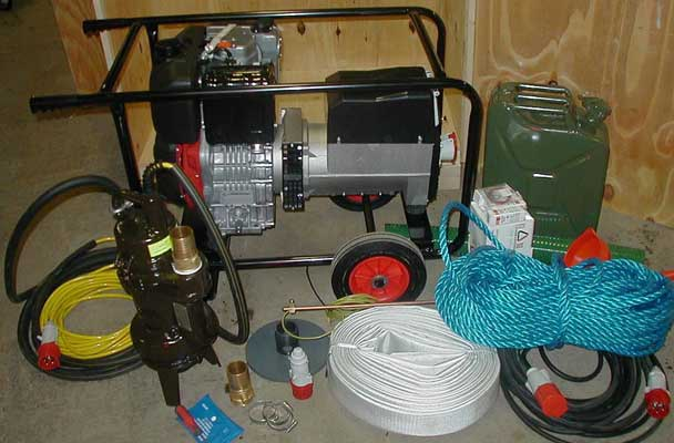 "2"" Desludging Pump Kit with Diesel Generator"