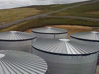 Ethylene Glycol Storage - Shetalnd Isles