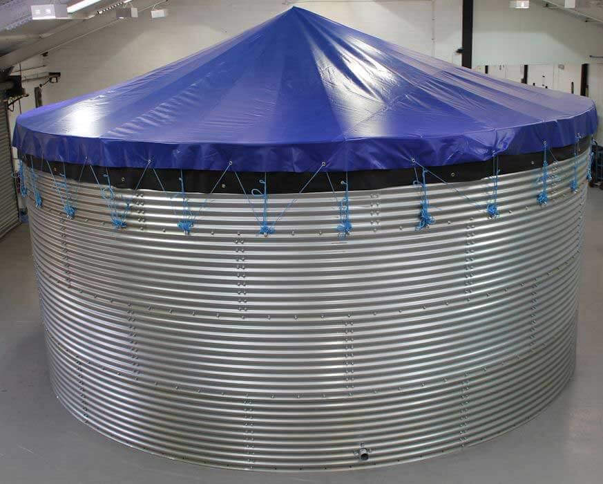 Steel Water Storage Oxfam Tanks Butyl Products Ltd Group