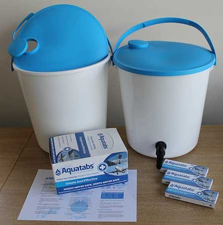 Household Water Purification Kits_Tablets