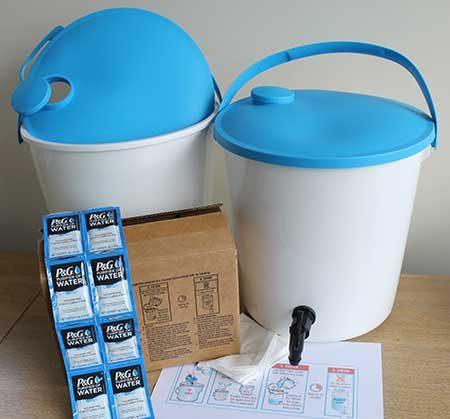 Household Water Purification Kits, Granules
