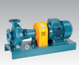 Horizontal End Suction Pump Long Coupled
