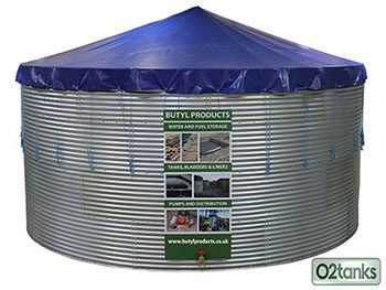 O2 Water Storage Tanks