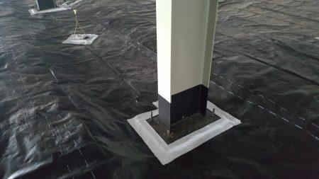 Column Sealing Detail